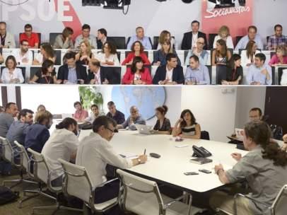 Podemos y PSOE