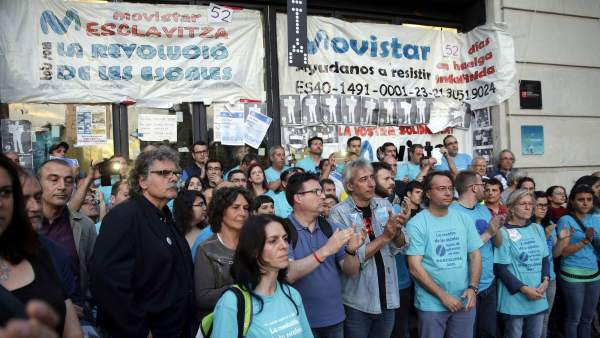Huelga en Barcelona