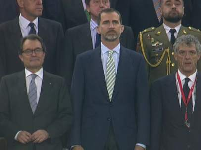 Pitada al himno en la Copa