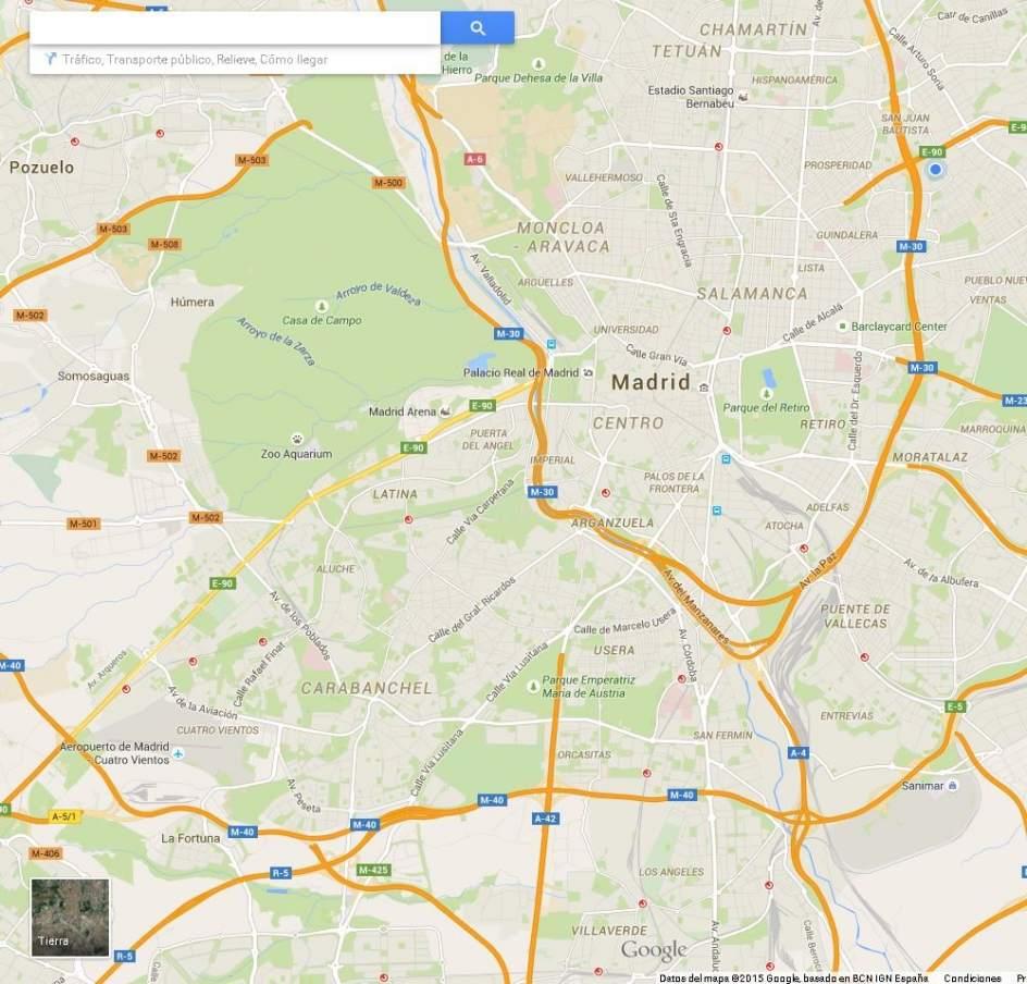 google maps ya funciona sin conexi n a internet. Black Bedroom Furniture Sets. Home Design Ideas