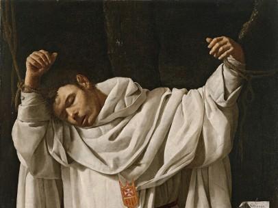 Francisco de Zurbarán. San Serapio, 1628