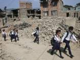 Vuelta al cole en Nepal