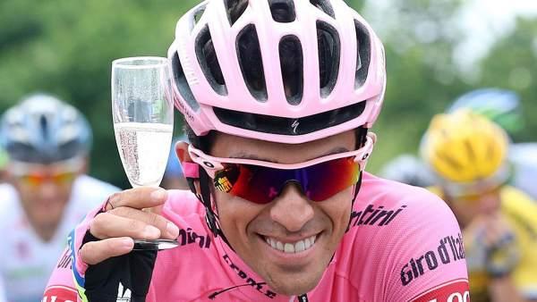 Contador gana el Giro