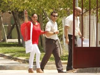 Isabel Pantoja sale de prisi�n con un permiso