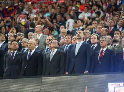 Pitada al himno de España