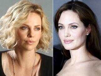 Charlize Theron y Angelina Jolie