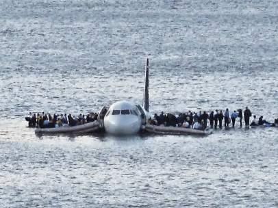 Accidente avión río Hudson 2009