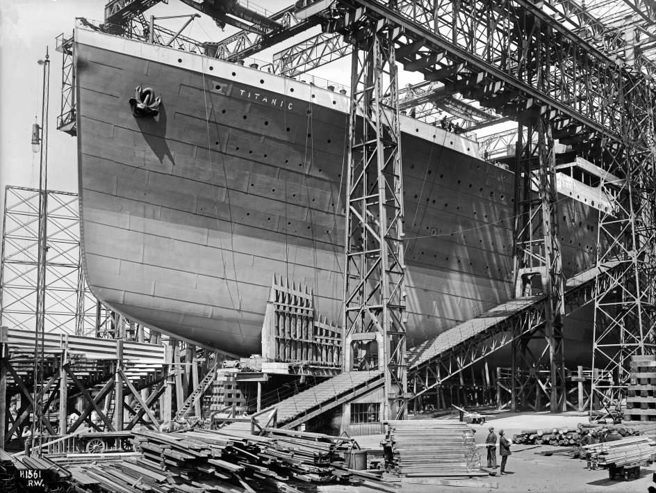 Un inversor chino gastar 120 millones de euros en - Construccion del titanic ...