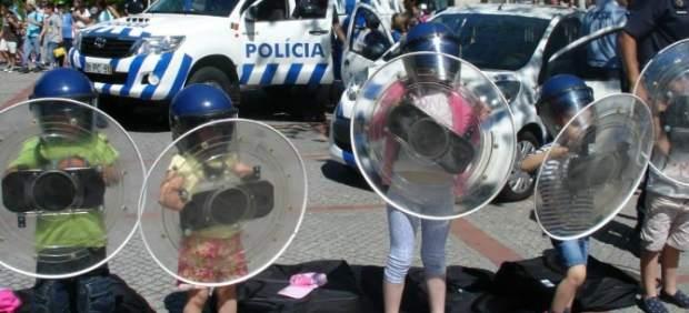 Niños antidisturbios