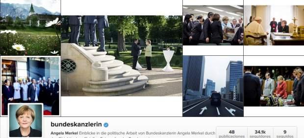 Instagram de Merkel