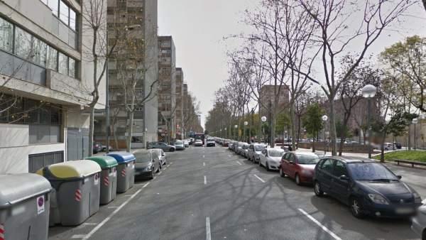 calle caracas barcelona