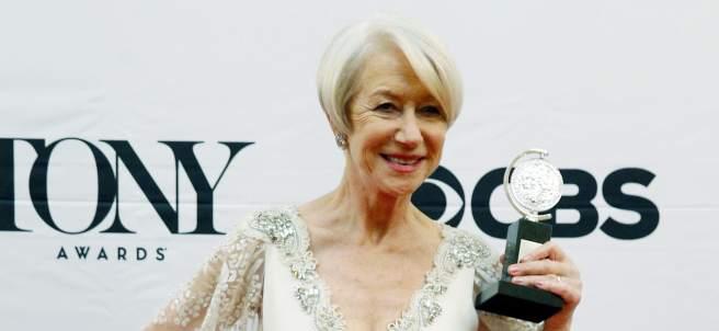 La actriz británica Helen Mirren.