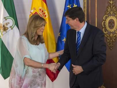 Susana D�az y Juan Mar�n