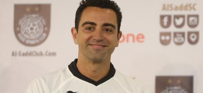 Presentación de Xavi Hernández