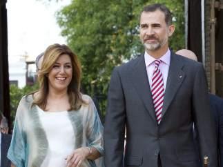 El rey Felipe VI y Susana D�az