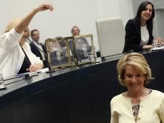 Aguirre tras votar