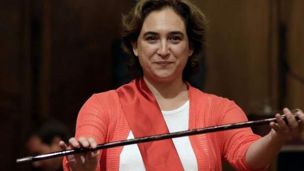 Ada Colau, alcaldesa