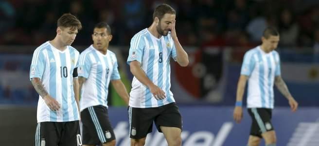 Decepción argentina