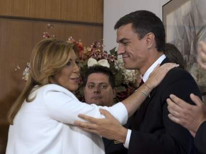 Susana D�az y Pedro S�nchez