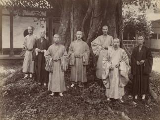 Buddhist Monks in Chefoo, Mee Cheung, c. 1880-1890