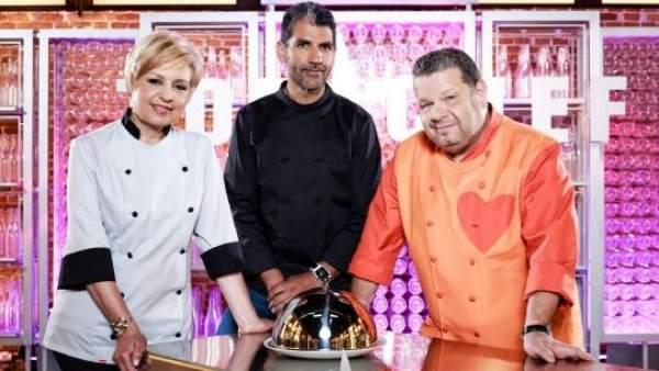 Presentadores de 'Top Chef'