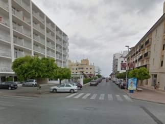 Calle Soledad en Ibiza
