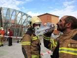 Incendio en el Metro de Bilbao