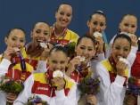 Medalla de plata española en Bakú