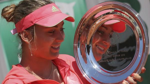 Paula Badosa, campeona femenina júnior en Roland Garros