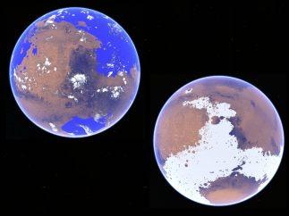 Modelo de temperatura de Marte
