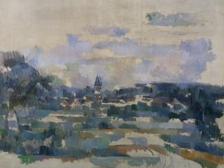 Paul C�zanne (1839 - 1906) - Turning Road (Route Tournante), c. 1905