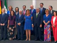 Foto de familia del gobierno andaluz