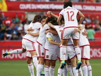 Selección de fútbol femenina