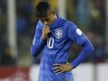 Neymar, pensativo