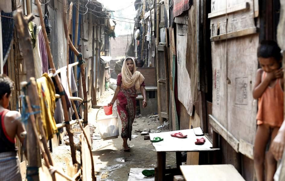 Refugiados en Nueva Delhi