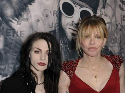 Courtney Love y Frances Cobain