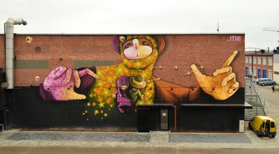 Resultado de imagen para inti murales arte urbano