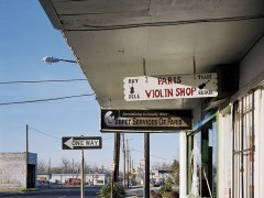 """Violin Shop N°2"" - Paris, Texas"