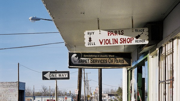 """Violin Shop N°2"" - Paris, Texas"