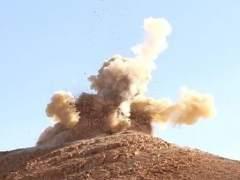 EI publica fotos de seis piezas de Palmira destruidas
