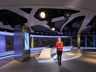 Al Jazeera Studio - The Shard, London