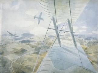 Eric Ravilious, Hurricane in Flight, c.1942