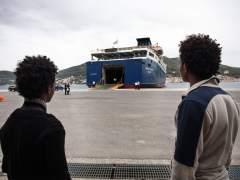 Los 22 refugiados que llegan a España: hombres, eritreos y acogidos por ONG