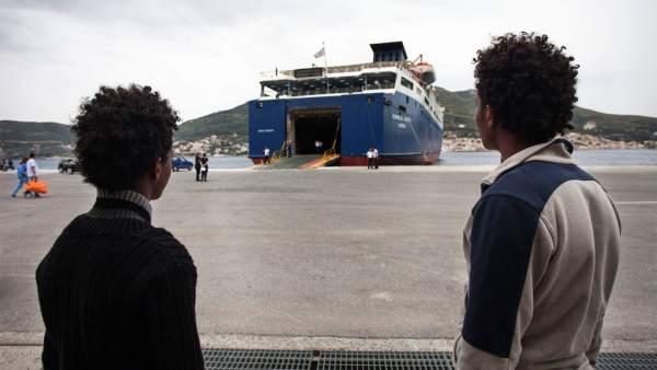 Ciudadanos huidos de Eritrea