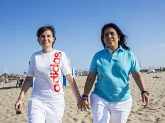 Ana y Miriam, 10 aniversario de bodas del mismo sexo