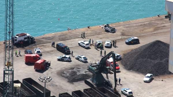 Muelle Este del Puerto de Barcelona