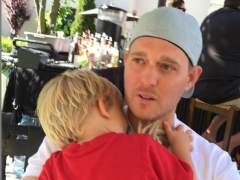 El hijo de Michael Bubl�, hospitalizado tras quemarse con agua hirviendo