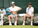 Feliciano, Nadal y Ferrer