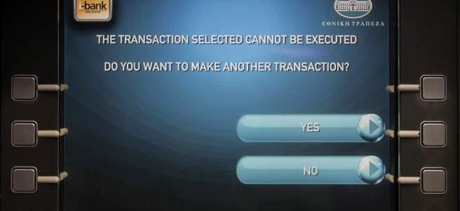 Los cajeros imponen límites de retirada de dinero (EFE/ORESTIS PANAGIOTOU)