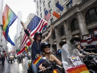 Marcha del orgullo gay en Nueva York